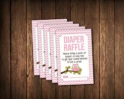 owl baby shower diaper raffle tickets jpg printable file pink
