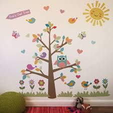 Owl Wall Decals Nursery by Owl Tree Wall Stickers By Parkins Interiors Notonthehighstreet Com