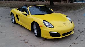 yellow porsche boxster porsche boxster photos car photos truedelta