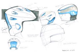 helmet design game helmet design lineweights