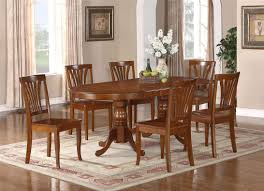 oval shape dining table dining room furniture oval shape pedestal table for with brown
