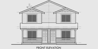 duplex house plan two story duplex house plan affordable d 549