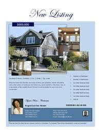 real estate flyers free flyer templates