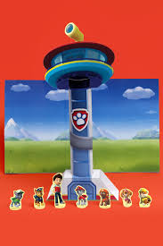 paw patrol tower theater craft nickelodeon parents