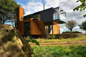 Home Design Architects Welsh Architects Sing Praises Of Shipping Container Conversion