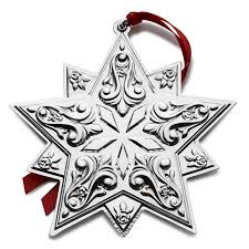 silver ornament 2016 towle silver ornament
