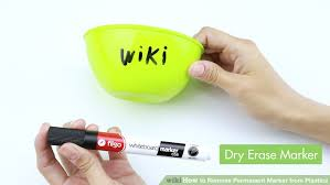 how to get permanent marker off table the best ways to remove permanent marker from plastics wikihow