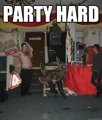Party Hard Meme - 8 best party hard images on pinterest funny images funny pics and