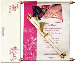 indian wedding scroll invitations scroll wedding invitation cards india yaseen for