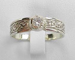 gold engagement rings uk scottish celtic diamond engagement ring love2have in the uk