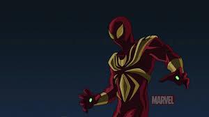 image iron spider armor ultimate spider man jpg spider man