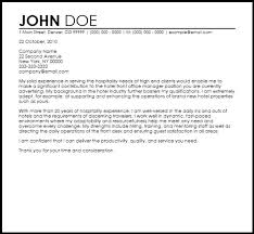 Front Desk Manager Hotel Front Office Manager Cover Letter