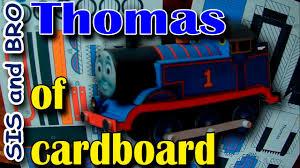 thomas train cardboard free gift cardboard models trains