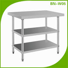 Stainless Kitchen Work Table by Excellent Stainless Steel Kitchen Work Table Wallpaper Gallery