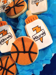 basketball baby shower cookies baby showers by chloe cook events