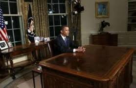obama at desk if a disordered desk signifies a disordered mind what does an empty