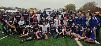 Nfl Challenge Flag Veteran Amputee Team Rumbles With Washington Redskins U0026 Nfl Alumni