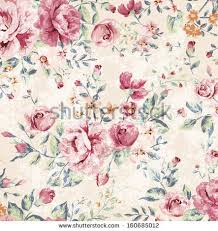 classic wallpaper seamless vintage flower classic wallpaper seamless grunge vintage flower stock illustration