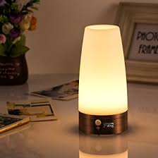 battery operated table lights light sensitive table l wireless pir motion sensor retro night