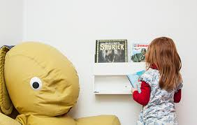 This Is How You Create The Perfect Reading Nook For Your Ki - Tidy books bunk bed buddy