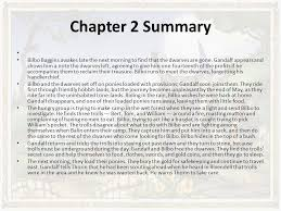 the hobbit chapter summaries ppt