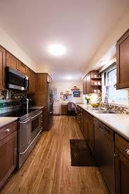cabinet lighting galley kitchen northwestern west lafayette galley kitchen remodel