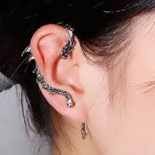 cuff earings antique silver ear cuff earrings the jewels