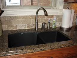 peerless kitchen faucets reviews granite countertop bar height cabinets clogged sink disposal