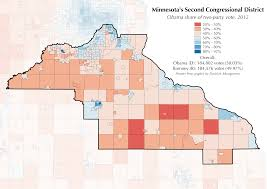 Twin Cities Map Mapping Minnesota U0027s Competitive Second District