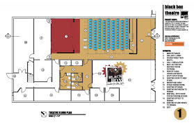 theatre floor plan about