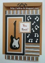 17 best guitar cards images on cards masculine cards
