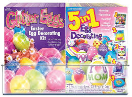 easter egg decorating kits decorations easter unlimited glitter egg decorating kit easter