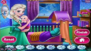 ღ elsa mommy room deco disney frozen room decoration game for