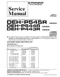 pioneer deh p4800mp installation manual wiring diagram wiring