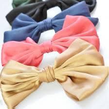 barrettes hair korea style fashion big bowknot ribbon hair barrettes hair
