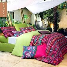 modern bohemian duvet covers designer girls boho bedding sets