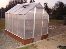 Buy A Greenhouse For Backyard Building And Improving The Harbor Freight 6x8 Greenhouse 11 Steps
