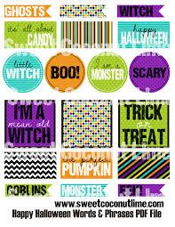 printable monster name tags happy halloween printable tag fun for christmas