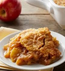 5 ingredient apple dump cake easy thanksgiving recipe darlene