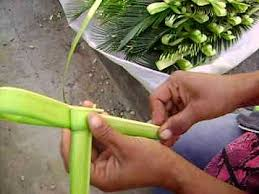 palm sunday crosses how to make a palm cross