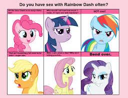 Mlp Fluttershy Meme - 102448 6 pony meme applejack bend over exploitable meme