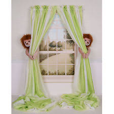 Jungle Curtains For Nursery Curtain Critters Window Treatments Ebay