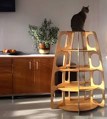 Modern Design Cat Furniture by Multi Level Modern Design For Cats From Holindesign Cat Cat