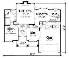 home electrical wiring diagram main floor plan 1311 sqft
