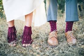 burgundy wedding shoes picture of burgundy fringe wedding shoes for and socks for him