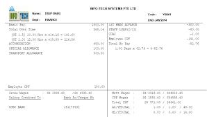 payslip software singapore format payslip pay slip payslip