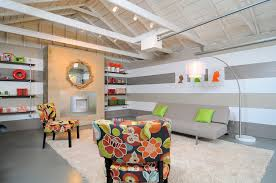 garage room kerrie kelly design lab hgtv room crashers garage turned lounge