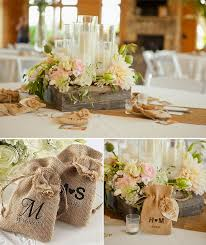 burlap wedding ideas wedding decorations and ideas