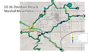 Cu Boulder Map Davidson Mesa Underpass At U S 36 Moving Forward Giving Hope For