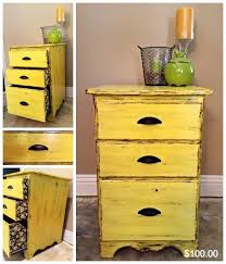 17 best yellow shabby chic images on pinterest painted furniture